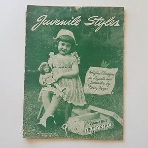 Vintage 1944 Juvinile styles magazine